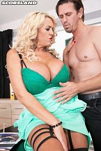 Business Is Bangin' For Busty Boss Shannon Blue